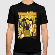 Pulp Fiction Mens Fitted Tee Black SMALL
