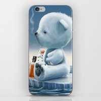 Derek The Depressed Bear iPhone & iPod Skin
