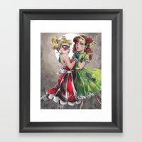 Gotham Girls Framed Art Print