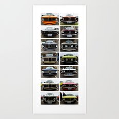BMW classic - West Seattle Art Print