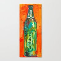 Carlsberg  Beer Canvas Print
