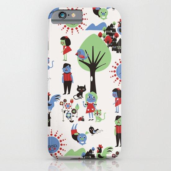 Beautiful day pattern iPhone & iPod Case