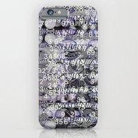 Post-Digital Tendencies Emerge (P/D3 Glitch Collage Studies) iPhone 6 Slim Case