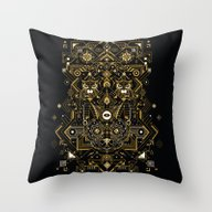 Throw Pillow featuring Direction by Yoaz