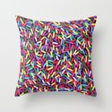 Encrusted With Sprinkles Throw Pillow