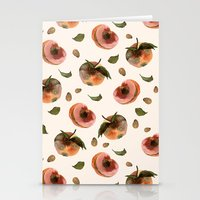 moldy peaches Stationery Cards
