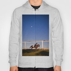 A rider and a horse Hoody