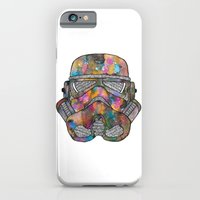 iPhone & iPod Case featuring Stormtrooper Galaxy by Happy Jack