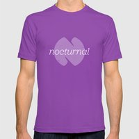 Nocturnal Mens Fitted Tee Ultraviolet SMALL