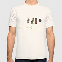 Thread Mens Fitted Tee Natural SMALL