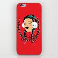 Winter Girl II iPhone & iPod Skin