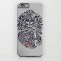 iPhone & iPod Case featuring Madame Death by Fathi