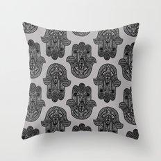 HAMSA PRINT Throw Pillow