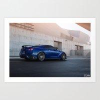 Nissan GT-R Art Print