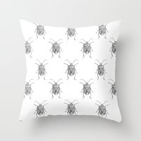 Pentatomidae Throw Pillow