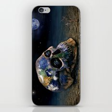 Save our World 16 iPhone & iPod Skin