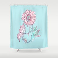A Cycle of Existence Shower Curtain