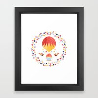 Up we go! Framed Art Print