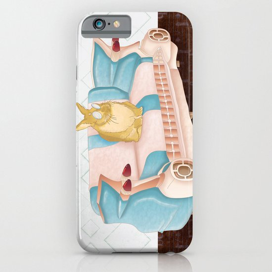 Bunny Business  iPhone & iPod Case