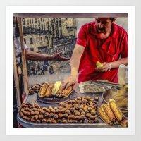 Istanbul Travel Diary 07 Art Print
