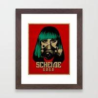 Scheiße Part 2: Don't Speak Scheiße Framed Art Print