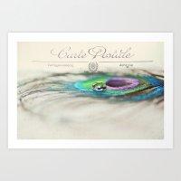 Postcard from the Edge Art Print