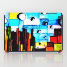 Abstract Autumn Landscape iPad Case