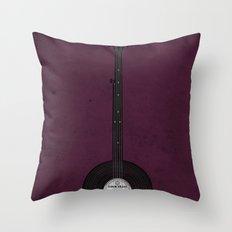 Banjo Beats Throw Pillow