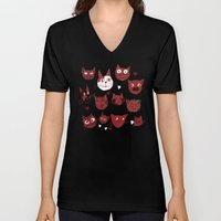 i love cats Unisex V-Neck
