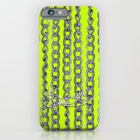 iPhone & iPod Case featuring Raining Chains. by Sylvie Heasman