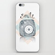 Just Smile iPhone & iPod Skin