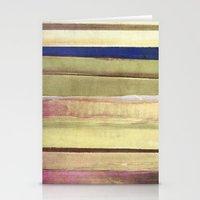 striped Stationery Cards