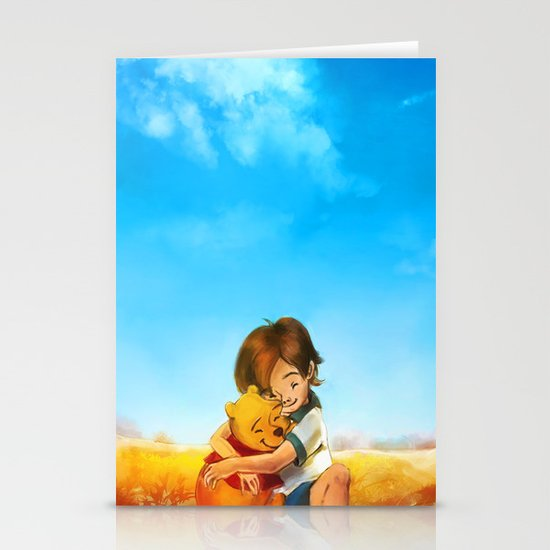 Everything is Right Stationery Card