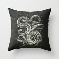 Smoke6 Throw Pillow