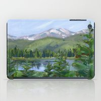 Echo Mountain Lake iPad Case
