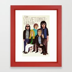 The Velvet Underground Framed Art Print