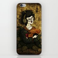 Geisha Hipster iPhone & iPod Skin