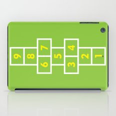 Hopscotch Green iPad Case