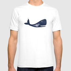 Moby and Friends SMALL Mens Fitted Tee White