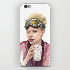 Jillian Holtzmann Portrait Ghostbusters Art iPhone & iPod Skin