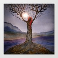 Track 23: Tree Of Life Canvas Print