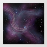 Nebula IX Canvas Print