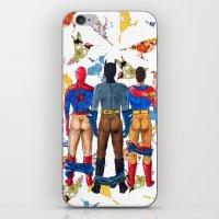 Super Hero BUTTs | It's … iPhone & iPod Skin