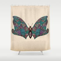 - flyfly - Shower Curtain
