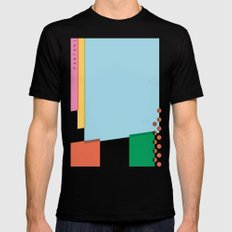 SECRET CYCLING FLAG - PANTANI SMALL Mens Fitted Tee Black
