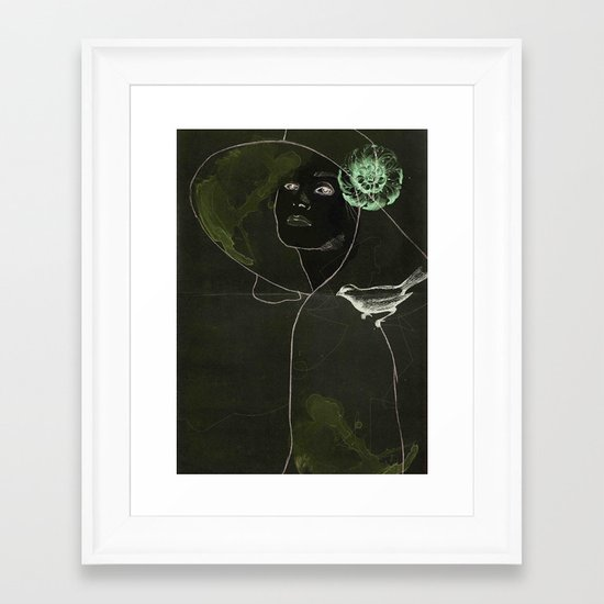 This bird is for you Framed Art Print