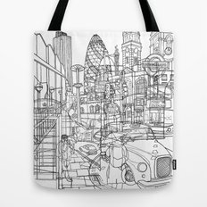 London! Tote Bag