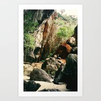 Railay Beach TH - Trail I Art Print