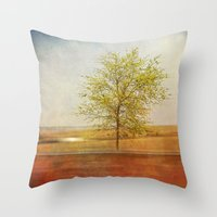 Lonely tree.I Throw Pillow