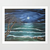 Bahama Blue Art Print